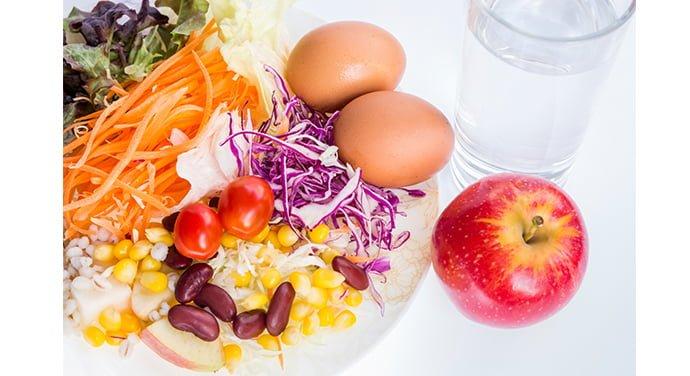 Aliments de source végétale et oeufs