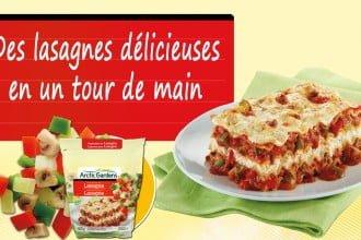 Des lasagnes délicieuses en un tour de main