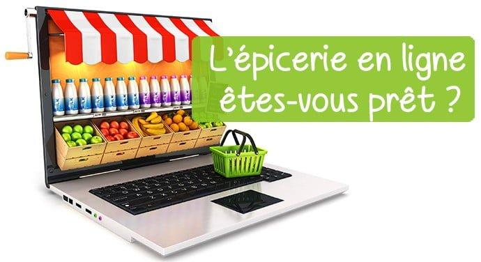 Faire son épicerie en ligne