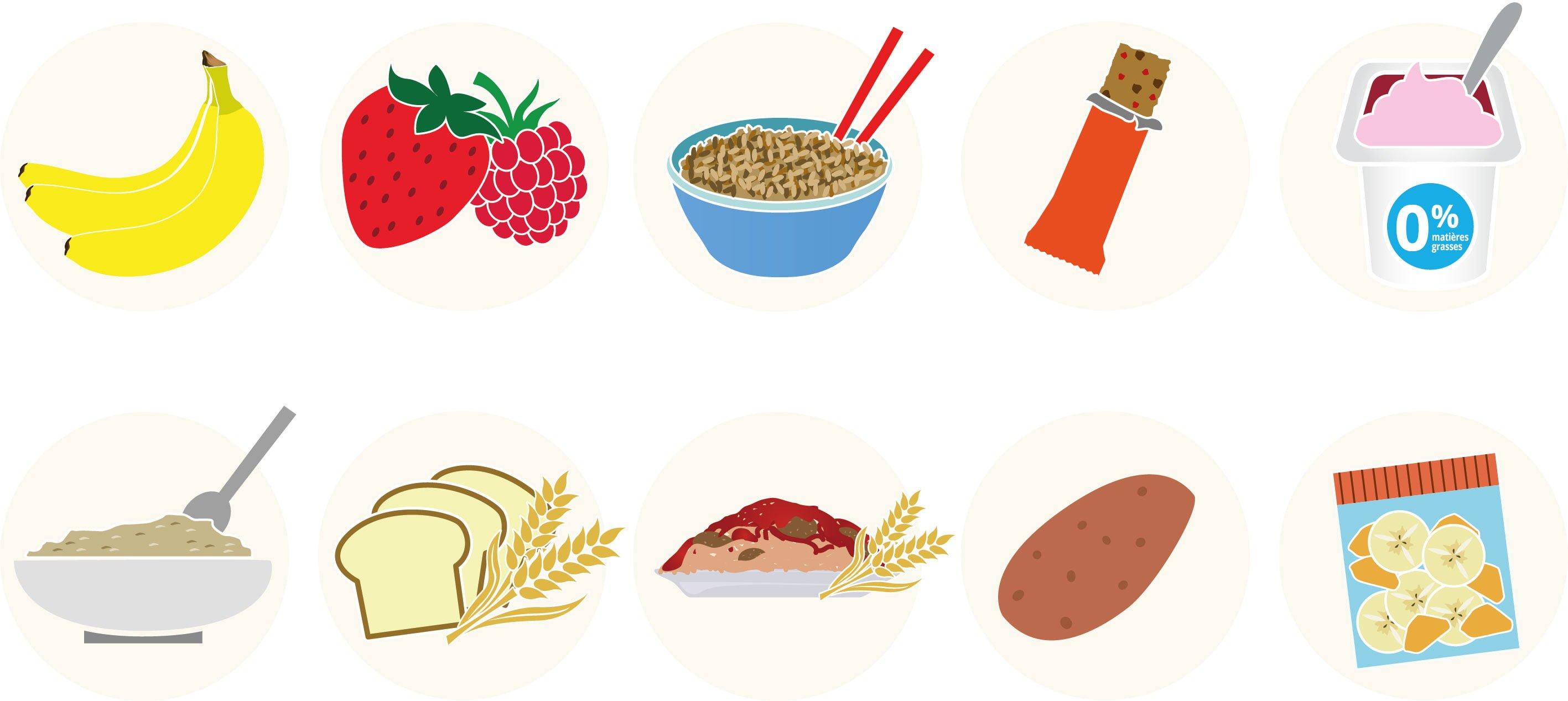 Les 10 meilleures sources de glucides