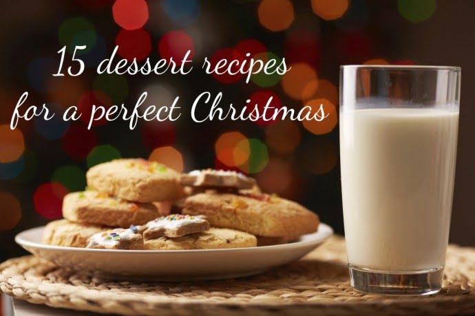15 dessert recipes for a perfect Christmas