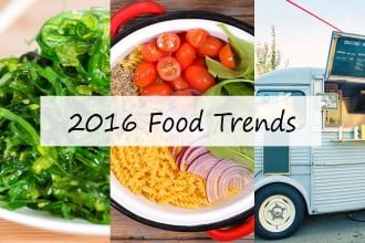 2016 Food trends