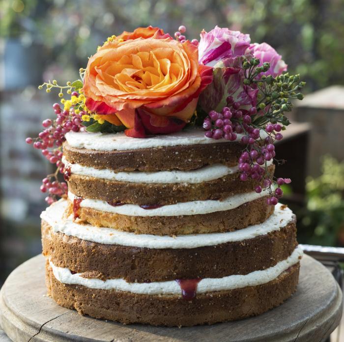 Un gâteau nommé naked cake
