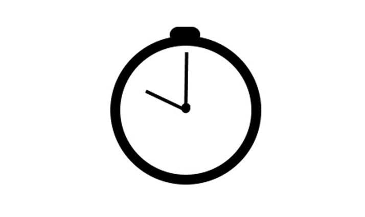 Horloge - pour gagner du temps
