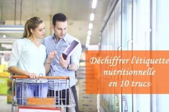 Déchiffrer l'étiquette nutritionnelle en 10 trucs