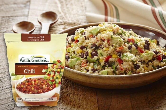 Salade mexicaine de quinoa