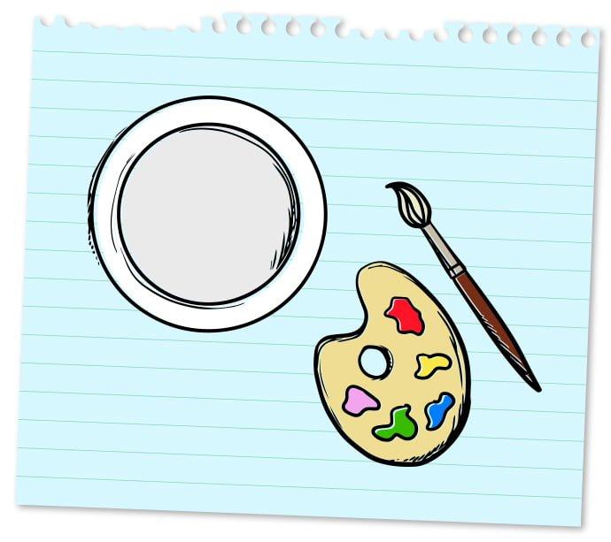 Créer une oeuvre d'art dans son assiette