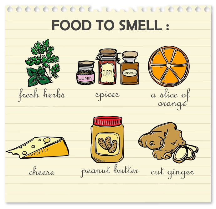 Food to smell