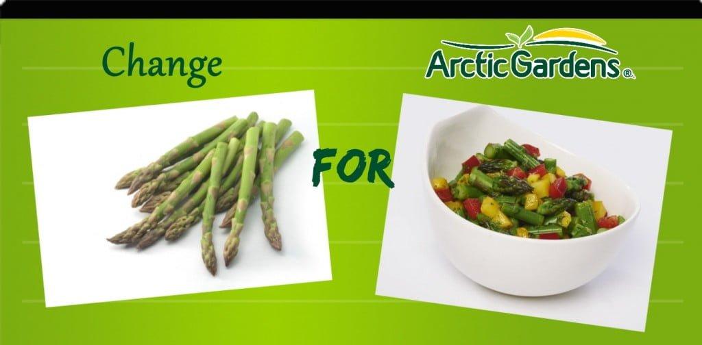 Asparagus vs aparagus and mango salsa