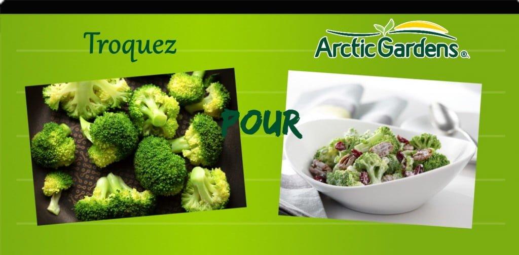 brocoli vapeur vs salade crémeuse de brocoli