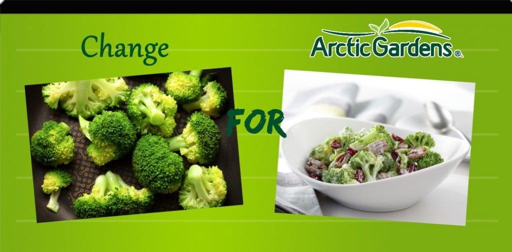 Brocoli vs creamy brocoli salad