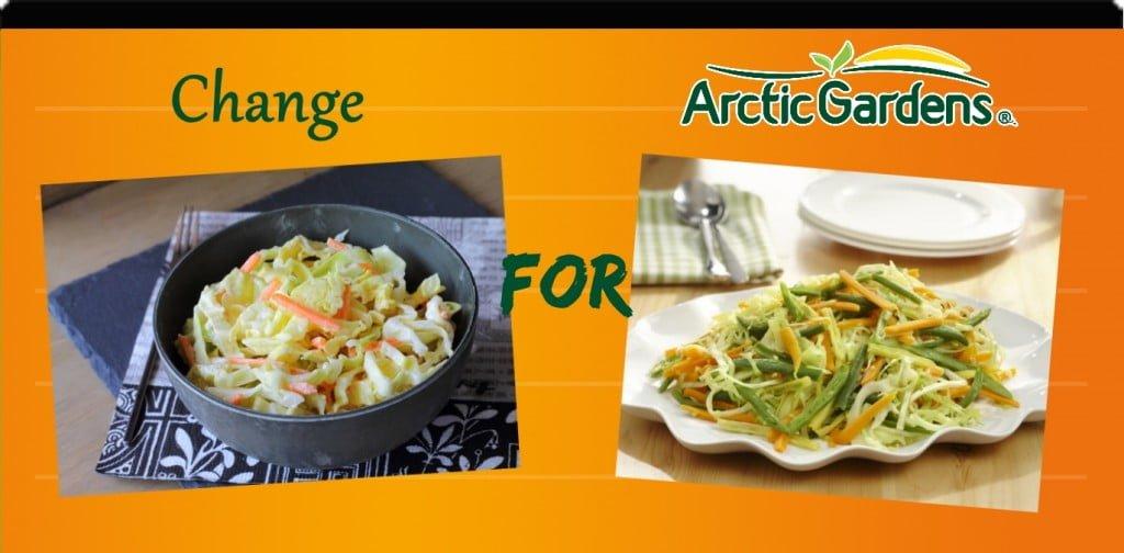 Coleslaw vs pickled veggies