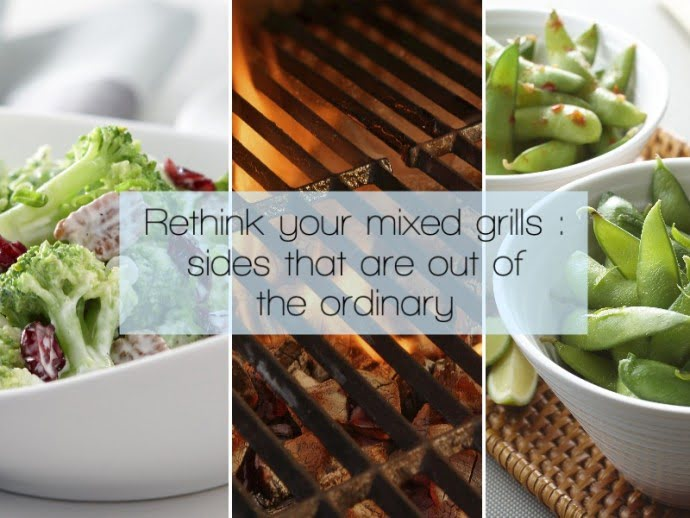 Rethink your mixed grills : sides that are out of the ordinary
