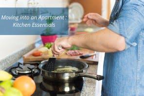 Moving into apartment : Kitchen Essentials