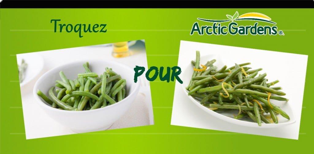 Haricots vapeur vs haricots cirtonnés