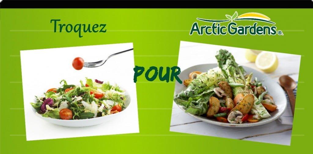 Salade de laitue vs salade de pommes de terre et laitue grillée