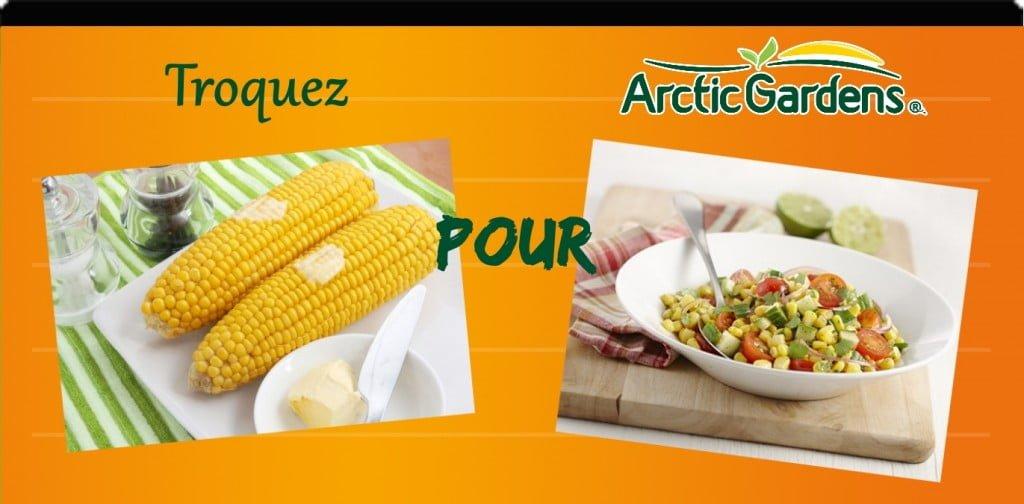Maïs en épi vs salade de tomates et maïs