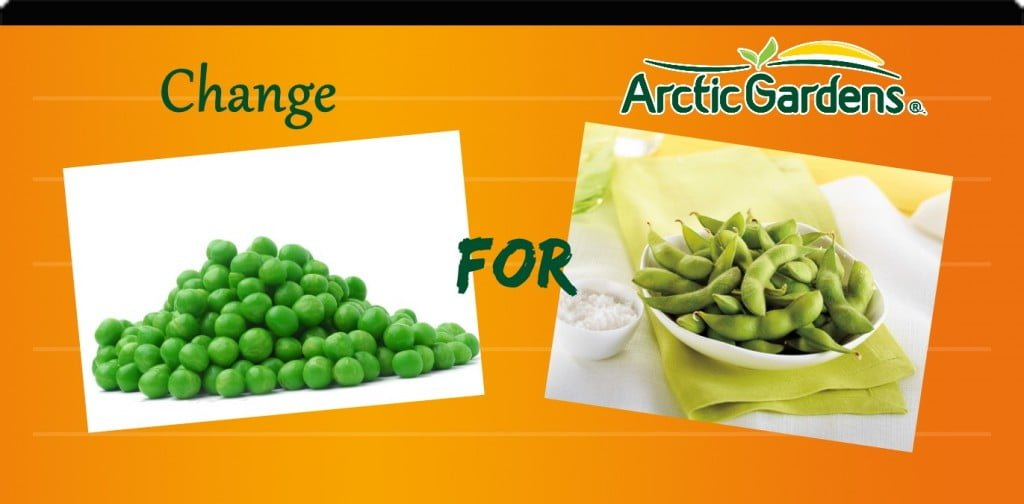 Peas vs edamemes