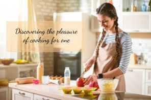 Disconering the pleasure of cooking for one