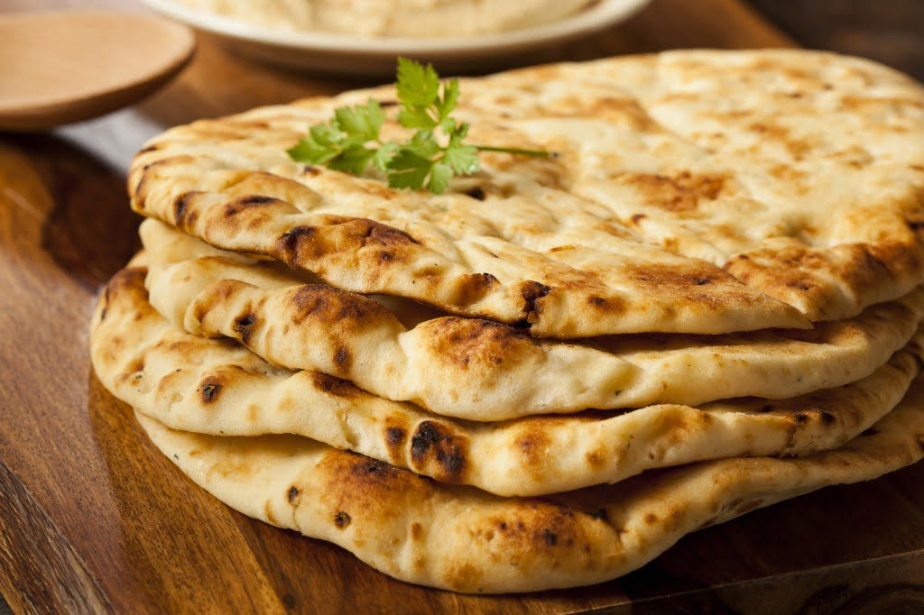 Le pain naan, versatile et pratique