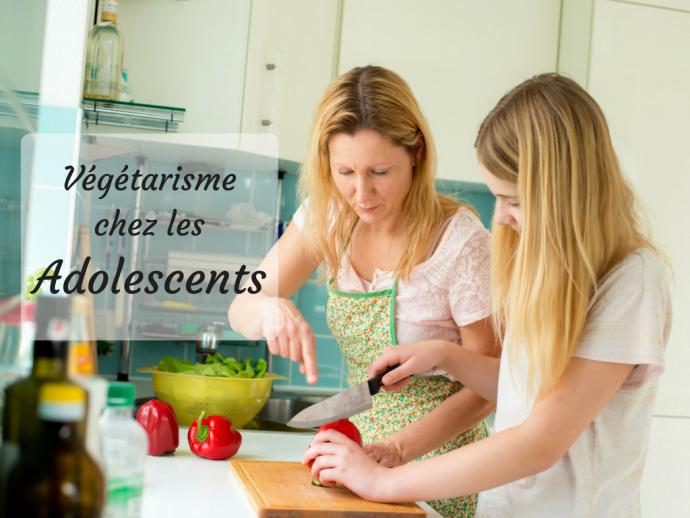 Végétarisme adolescents