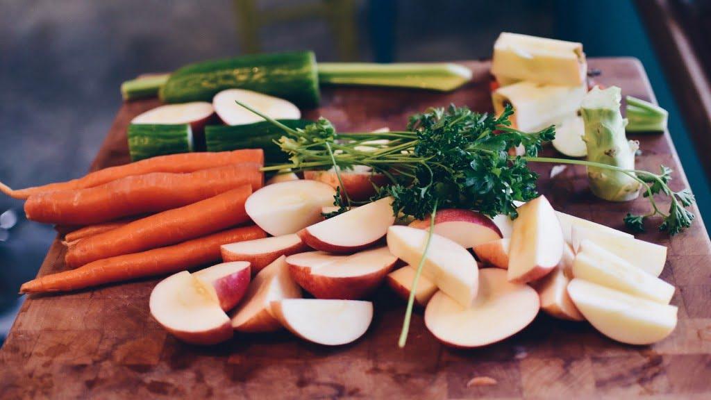Légumes à préparer
