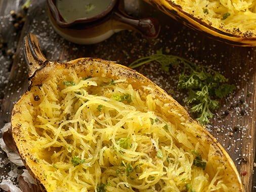 Courge spaghetti