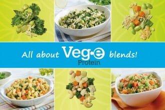 All about Veg•e Proteins blends!
