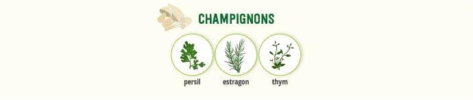Champignons & épices