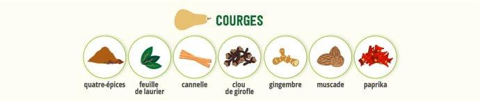Courges & épices