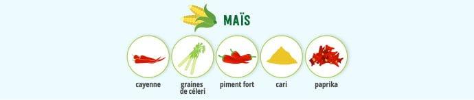 Maïs & épices
