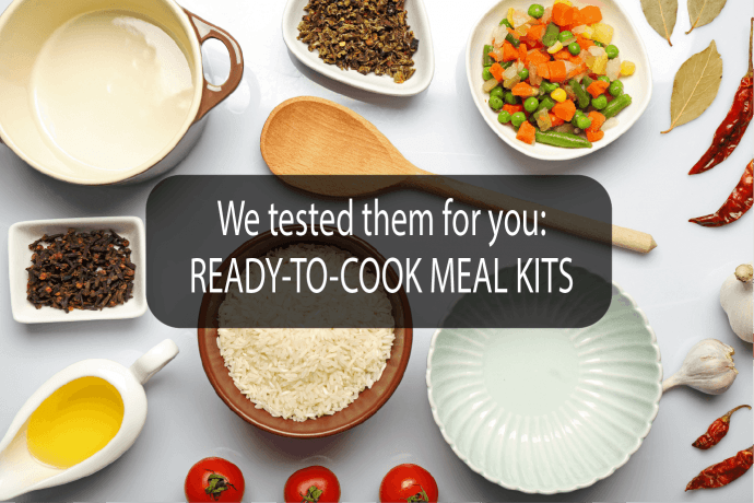 Cover meal kits