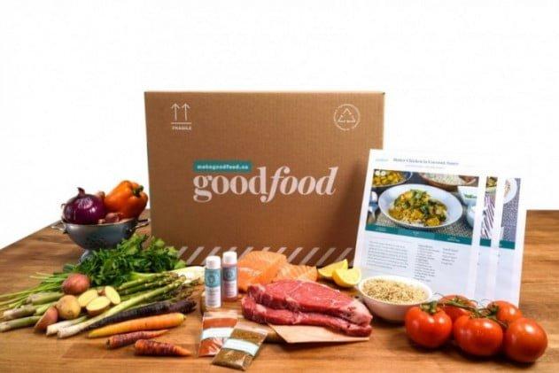 Contenu des boîtes Goodfood