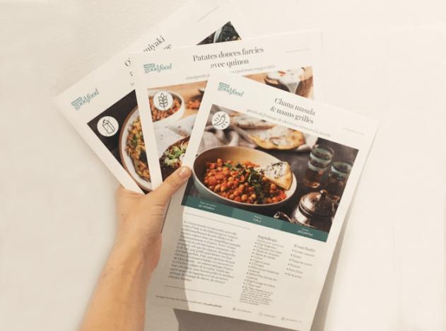 Recettes des compagnies de meal kits