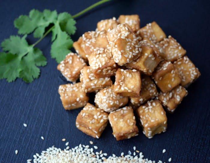 Tofu avec sésame