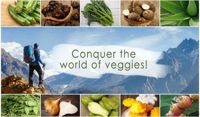 Conquer the world of veggies