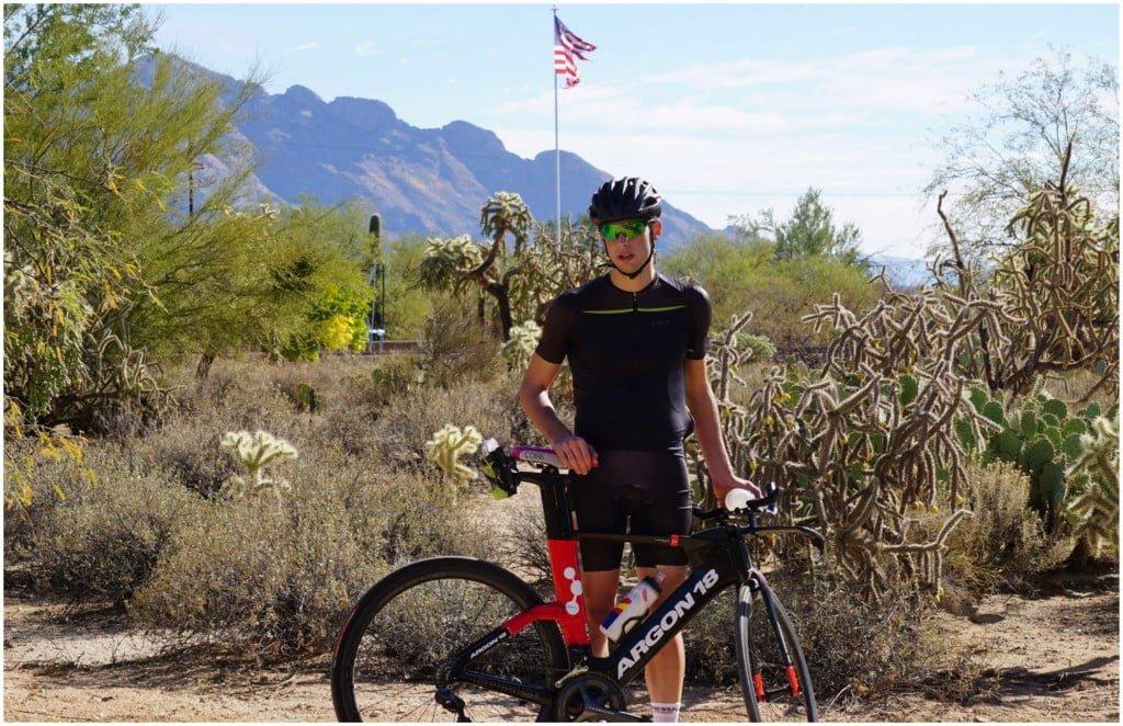 Antoine J. Desroches vélo
