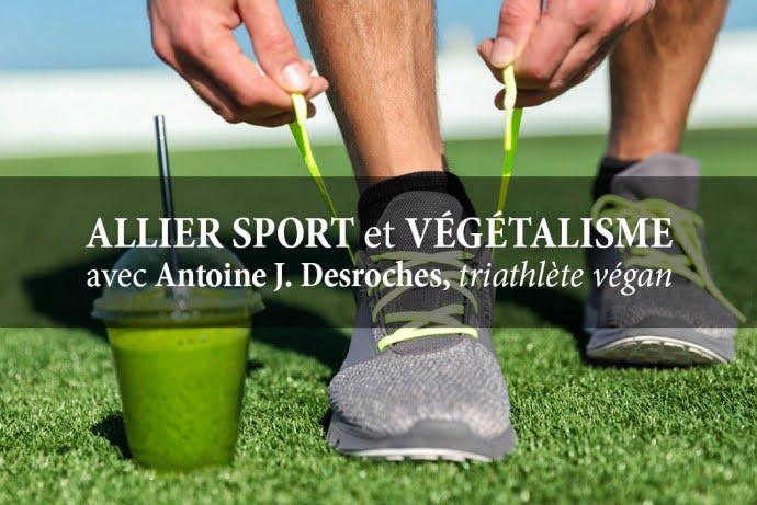 Allier sport et végétalisme
