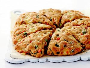 Macedonian cheese scones