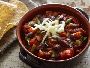 Chili with 2 legumes