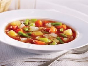 Home style vegetable soup