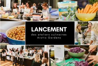 Lancement des ateliers culinaires Arctic Gardens