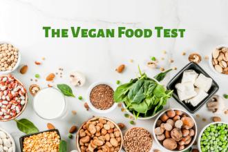 The vegan food test