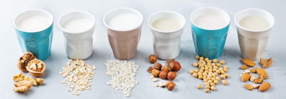 Les laits véganes