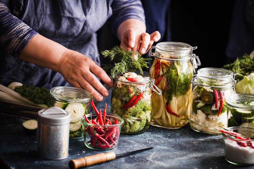 Les aliments fermentés