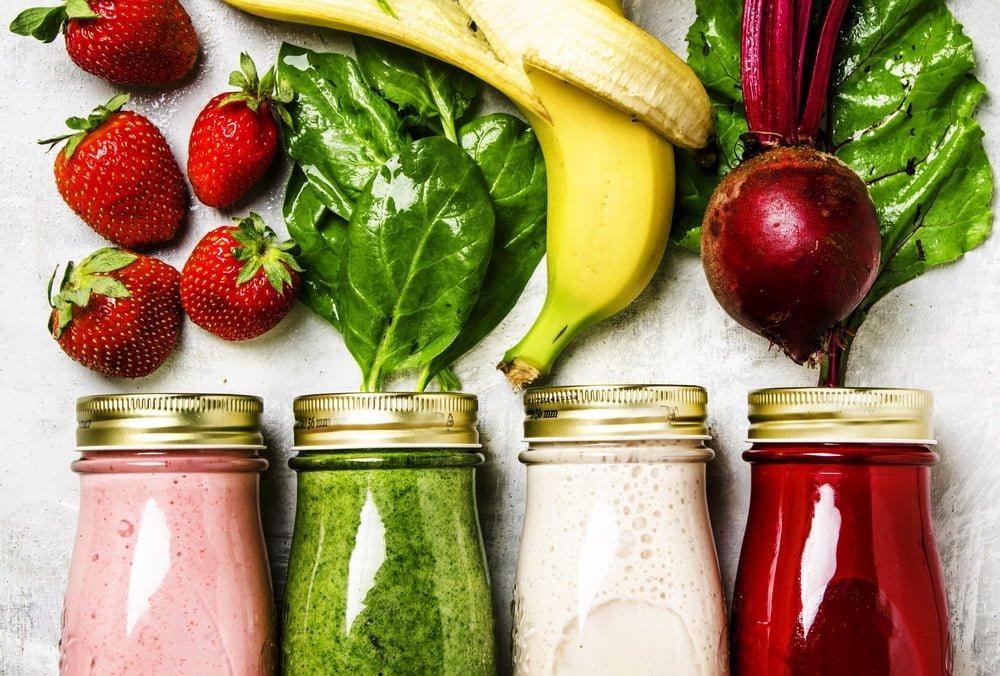 smoothies fruits et légumes