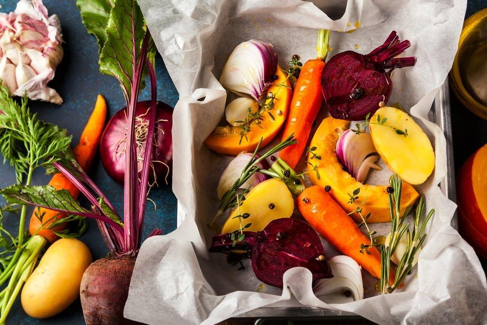 légumes four