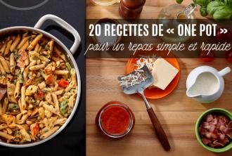 20 recettes de one pot