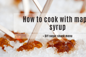 How to cook with maple syrup