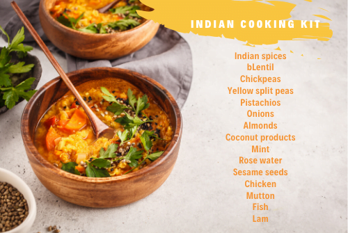 Indian cooking kit
